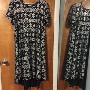 NWOT LuLaRoe elegant high low dress
